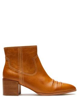 TAN GUM WOMENS FOOTWEAR SOL SANA BOOTS - SS201W308TAN