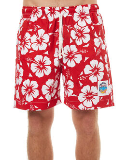 RED MENS CLOTHING OKANUI BOARDSHORTS - SOHBRD