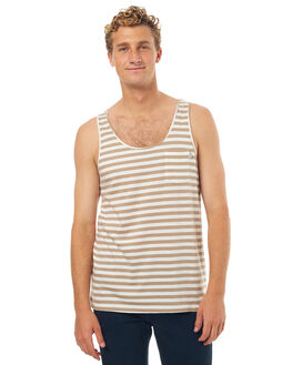 SAND MENS CLOTHING RHYTHM SINGLETS - OCT17M-CT12-SAN