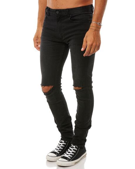 BLACK MENS CLOTHING INSIGHT JEANS - 5000000916BLK
