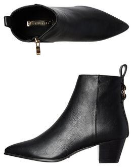 BLACK WOMENS FOOTWEAR BILLINI BOOTS - B897BLK