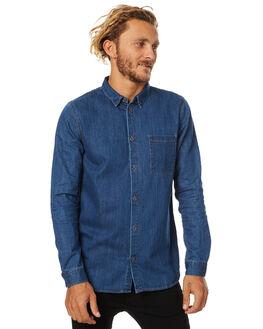MID RETRO MENS CLOTHING DR DENIM SHIRTS - 1531172MRET