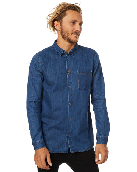 MID RETRO MENS CLOTHING DR DENIM SHIRTS - 1531172MRET