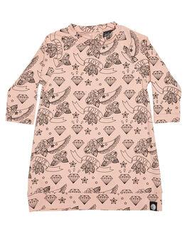 MULTI KIDS TODDLER GIRLS LITTLE LORDS DRESSES - GLVERSDRSMUL