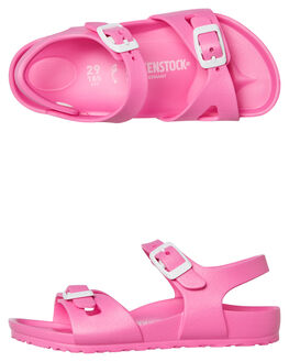 PINK KIDS GIRLS BIRKENSTOCK THONGS - 126163GPINK