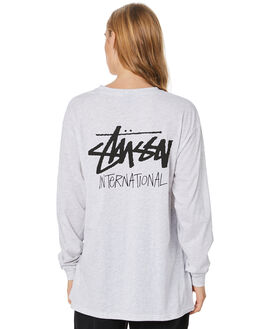 SNOW MARLE WOMENS CLOTHING STUSSY TEES - ST106004SNMRL