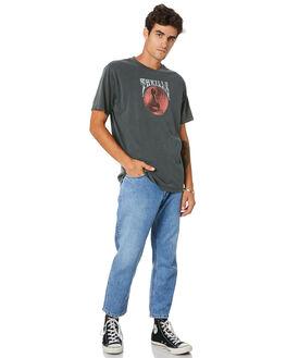 TRUCKER BLUE MENS CLOTHING THRILLS JEANS - TDP-414ETTBLUE