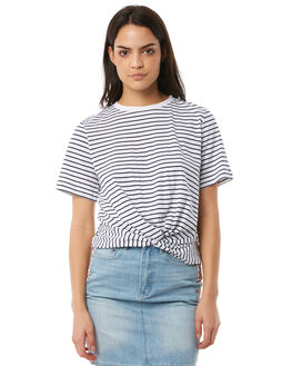 WHITE NAVY WOMENS CLOTHING THE FIFTH LABEL TEES - 40180254-6WHNVY