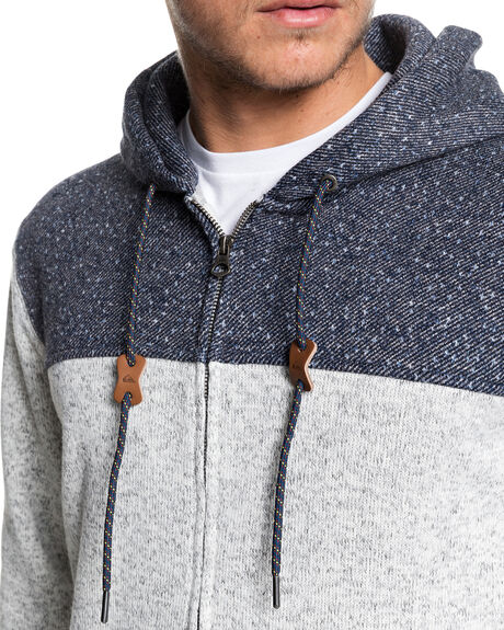 LIGHT GREY HEATHER MENS CLOTHING QUIKSILVER JUMPERS - EQYFT04013-SJSH