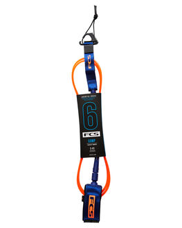 BLOOD ORANGE NAVY BOARDSPORTS SURF FCS LEASHES - ECOA-BON-06FBLDON