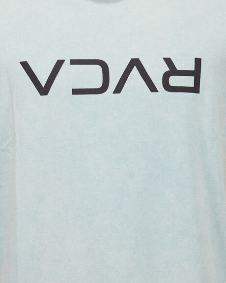 SEAGREEN MENS CLOTHING RVCA TEES - RV-R191046-SGN