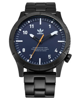 BLACK NAVY GOLD MENS ACCESSORIES ADIDAS WATCHES - Z03-3140