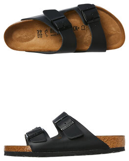 BLACK WOMENS FOOTWEAR BIRKENSTOCK FASHION SANDALS - 051191BLK