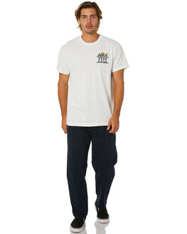 VINTAGE WHITE MENS CLOTHING DEUS EX MACHINA TEES - DMP201753AVNTWH
