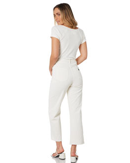 MARSHMELLOW CORD WOMENS CLOTHING ABRAND JEANS - 71934-5356