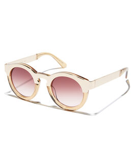 CHAMPAGNE WOMENS ACCESSORIES SUNDAY SOMEWHERE SUNGLASSES - SUN016-CHA-SUNCHAMP