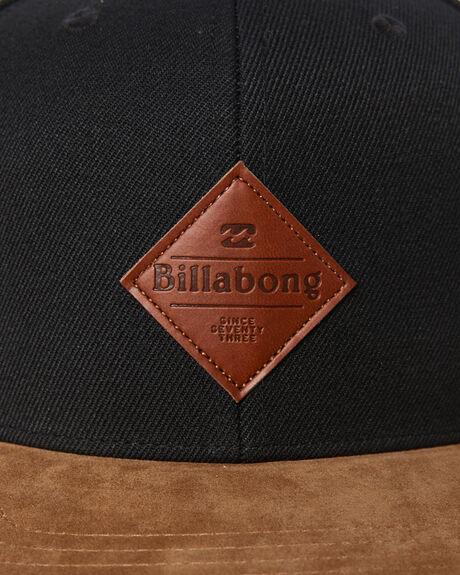 BLACK MENS ACCESSORIES BILLABONG HEADWEAR - 9695342ABLK