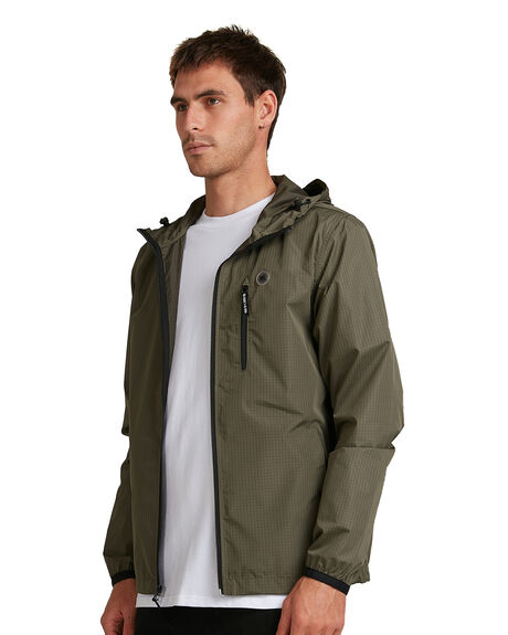 FATIGUE GREEN MENS CLOTHING DC SHOES JACKETS - ADYJK03081-CRB0