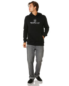 BLACK MENS CLOTHING VOLCOM JUMPERS - A4101900BLK