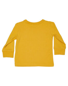 MUSTARD KIDS BABY ROCK YOUR BABY CLOTHING - BBT1925-ROMUST