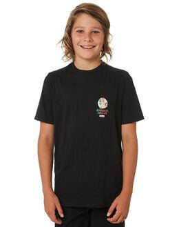BLACK KIDS BOYS HURLEY TOPS - CT1961010