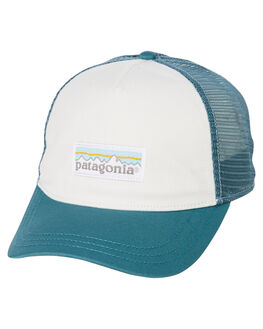 WHITE TASMANIAN TEAL WOMENS ACCESSORIES PATAGONIA HEADWEAR - 38198WHTT