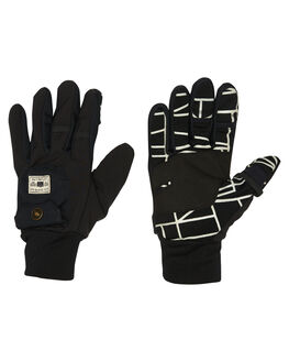 BLACK BOARDSPORTS SNOW POW GLOVES - PTG-A-S-DWR-BKBLK