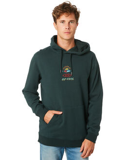 FOREST GREEN MENS CLOTHING RIP CURL JUMPERS - CFEOS10056