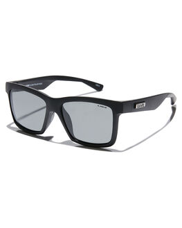MATTE BLACK MENS ACCESSORIES LIIVE VISION SUNGLASSES - L0675AMBLK