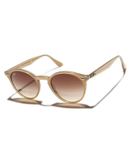 TURTLEDOVE BROWN MENS ACCESSORIES RAY-BAN SUNGLASSES - 0RB21804916613