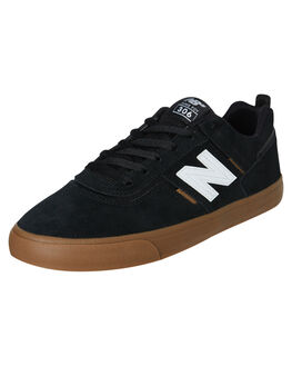 BLACK GUM MENS FOOTWEAR NEW BALANCE SNEAKERS - NM306BGMBGUM