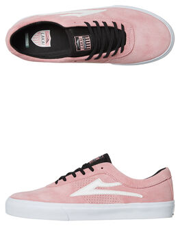 PINK SUEDE MENS FOOTWEAR LAKAI SKATE SHOES - MS3170101APINKS