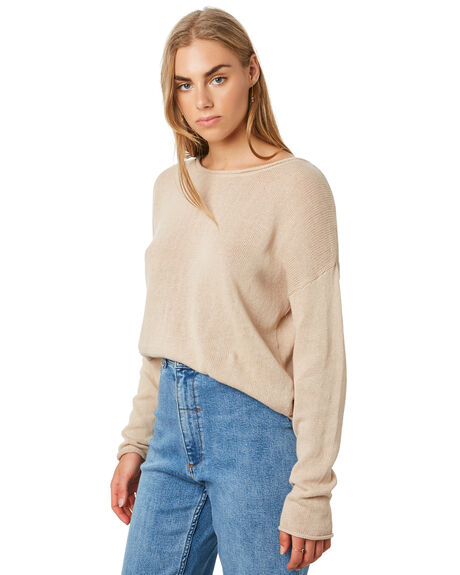 THRIFT WHITE WOMENS CLOTHING THRILLS KNITS + CARDIGANS - WTA20-202ATHWHT