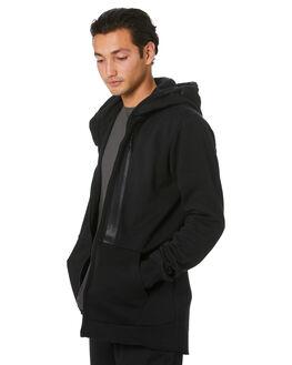 BLACK MENS CLOTHING VOLCOM JACKETS - A4831900BLK