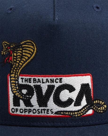 NAVY MENS ACCESSORIES RVCA HEADWEAR - R115562-N10
