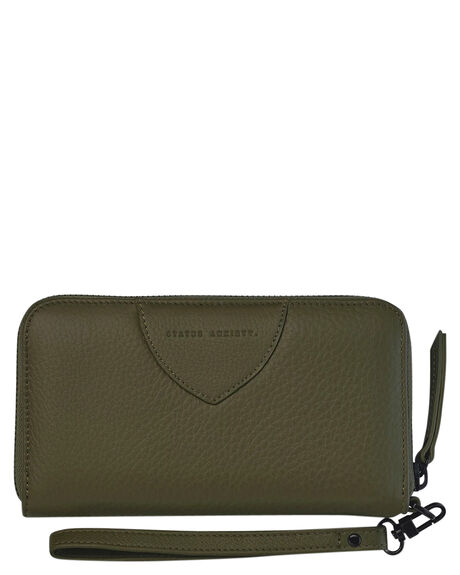 KHAKI WOMENS ACCESSORIES STATUS ANXIETY PURSES + WALLETS - SA1645KHAKI