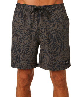 DARK OLIVE MENS CLOTHING RUSTY BOARDSHORTS - BSM1295DAO