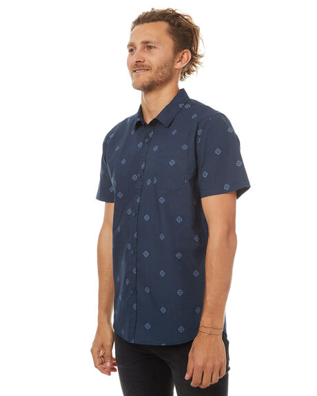 NAVY MENS CLOTHING SWELL SHIRTS - S5174170NVY