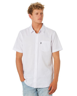 WHITE MENS CLOTHING RIP CURL SHIRTS - CSHMM11000
