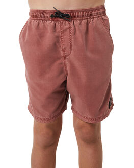 BURNT RED KIDS BOYS BILLABONG BOARDSHORTS - 8572439BURED