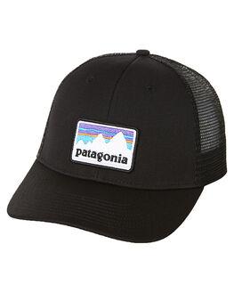 BLACK MENS ACCESSORIES PATAGONIA HEADWEAR - 38182BLK