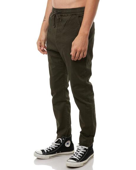 KHAKI MENS CLOTHING HUFFER PANTS - MPA81S002KHA
