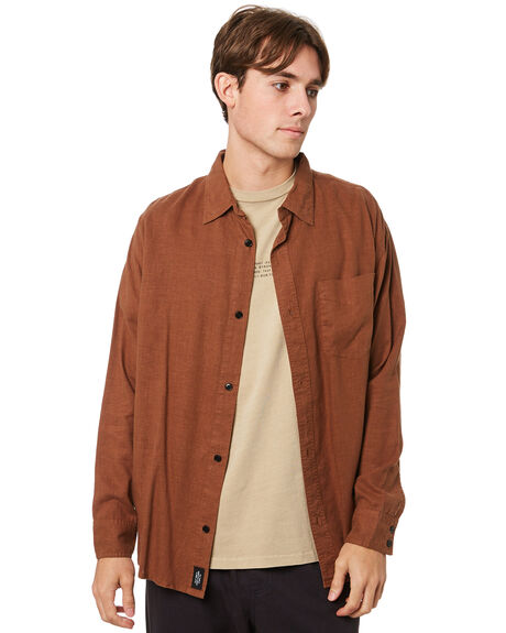 BISON MENS CLOTHING THRILLS SHIRTS - TH20-237CBBSN