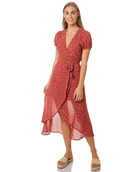 PRINT OUTLET WOMENS LULU AND ROSE DRESSES - LU23823PRNT