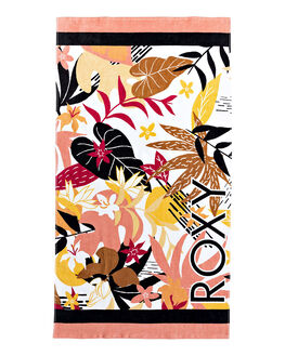 BRIGHT WHITE WOMENS ACCESSORIES ROXY TOWELS - ERJAA03702-XWKM