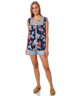 DENIM WOMENS CLOTHING SWELL SHORTS - S8183231DENIM