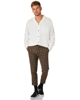 OFF WHITE MENS CLOTHING BANKS SHIRTS - WLS0074_OWH