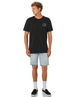 BLACK MENS CLOTHING DEPACTUS TEES - D5182004BLACK