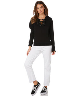 BLACK WOMENS CLOTHING ELWOOD JUMPERS - W91201BLK