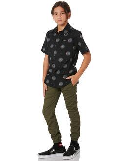 MILITARY KIDS BOYS VOLCOM PANTS - C1231803MIL